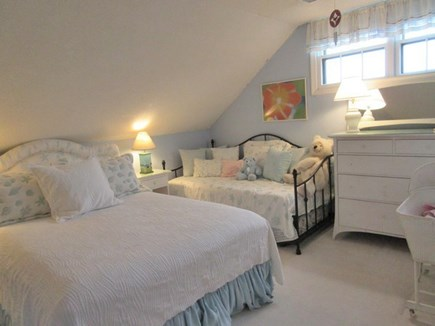 Surfside, Mid-island Nantucket vacation rental - Level Two Queen Bedroom with day bed