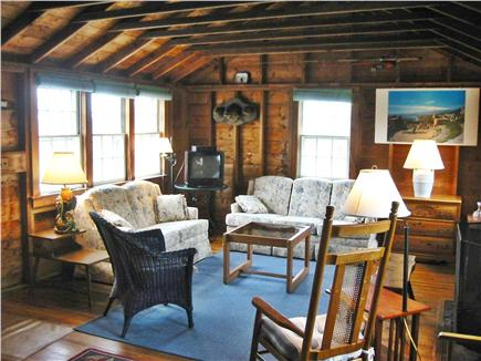 Wauwinet, Nantucket Nantucket vacation rental - Spacious living area, fold-out couch sleeps two additional