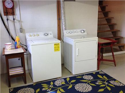 Tom Nevers, Nantucket Nantucket vacation rental - Washer & dryer in the clean, bright & dry basement