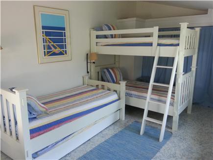 Madaket, Smith Point Nantucket vacation rental - Bunk Room with trundle - sleeps 4