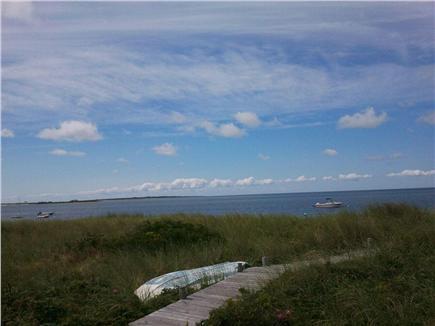 Madaket, Smith Point Nantucket vacation rental - Boardwalk to beach