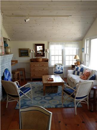 Madaket, Smith Point Nantucket vacation rental - First Living area