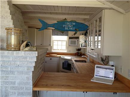 Madaket, Smith Point Nantucket vacation rental - Kitchen