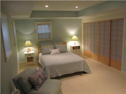 Madaket Nantucket vacation rental - Lower Level Bedroom suite w/ attached full bath