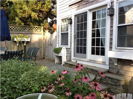 Nantucket town, Nantucket Nantucket vacation rental - Entertain dining alfresco on the Patio