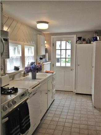Nantucket town, Nantucket Nantucket vacation rental - Light and bright Kitchen with access to Patio