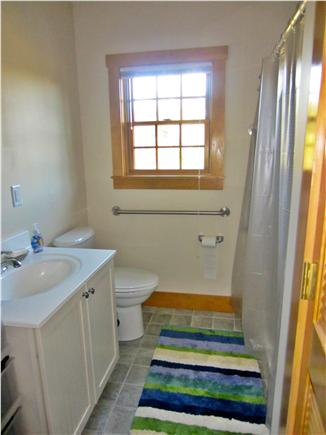 Nantucket town, Nantucket Nantucket vacation rental - 1st floor bathroom  (Washer/Dryer in closet)
