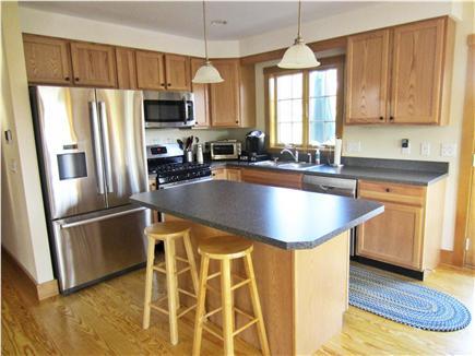 Nantucket town, Nantucket Nantucket vacation rental - Kitchen  (All stainless steel appliances) + Island