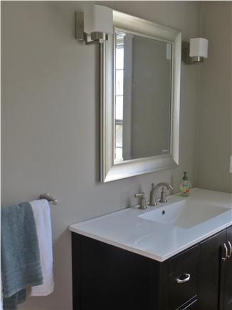 Mid-island, Naushop Nantucket vacation rental - First floor half-bath