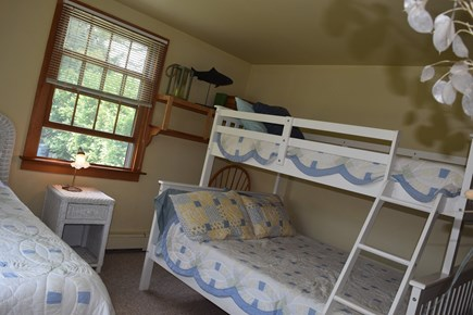 Mid-island Nantucket vacation rental - Bunk room sleeps 4 w/double bed on bottom  Bunk is CPSC compliant