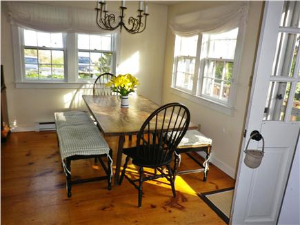 Siasconset Nantucket vacation rental - Dining Room facing the ocean