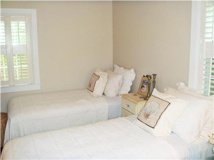 Siasconset Nantucket vacation rental - Ground floor twin bedroom