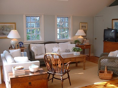 Nantucket town, Nantucket Nantucket vacation rental - Gracious, open living area
