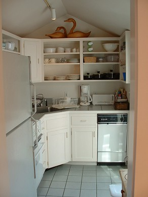 Nantucket town, Nantucket Nantucket vacation rental - Small, but fully equipped kitchen