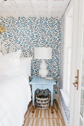Siasconset, Cod Fish Park Nantucket vacation rental - This cheerful room is designed with furniture from MegMade.