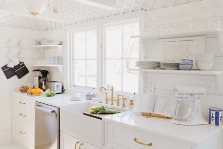 Siasconset, Cod Fish Park Nantucket vacation rental - A true chef equipped kitchen with Bertazzoni induction range.