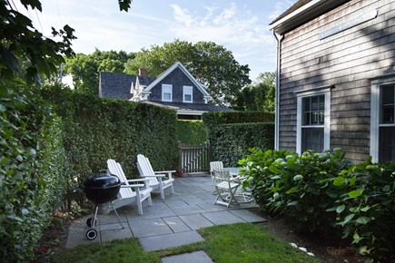 Nantucket town Nantucket vacation rental - Front patio