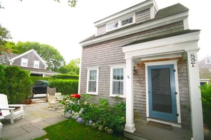 Nantucket town Nantucket vacation rental - Front entrance and partial view of the patio