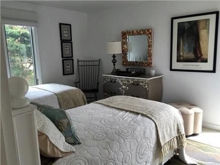 Madaket Nantucket vacation rental - First floor twins