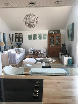 Madaket Nantucket vacation rental - Remodeled kitchen and dining area