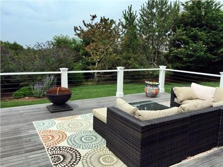 Madaket Nantucket vacation rental - Spacious outdoor lounging area