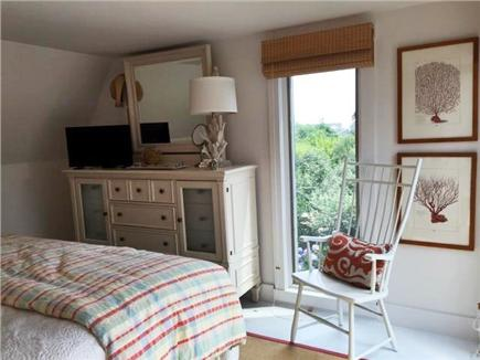Madaket Nantucket vacation rental - Master bedroom opens onto second floor deck