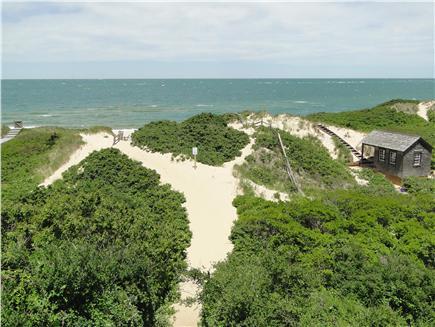 Nantucket town, Cliff Nantucket vacation rental - Easy 8 minute walk or short bike ride to Steps Beach
