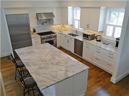 Nantucket town, Cliff Nantucket vacation rental - Gourmet kitchen.High-end appliances.Marble counters and island.