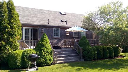 SURFSIDE Nantucket vacation rental - Dine, entertain and grill outdoors on the large deck