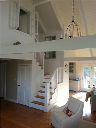 SURFSIDE Nantucket vacation rental - Open & architecturally interesting, stairs lead to master suite