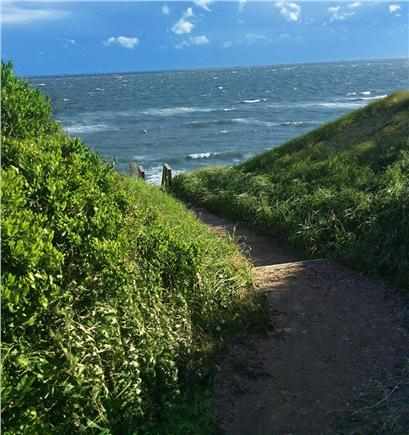 Dionis, Cliff Beach Nantucket vacation rental - Path at the end of Hinckley lane to Cliff beach.
