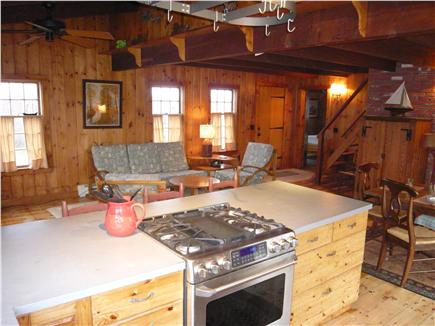Tom Nevers Nantucket vacation rental - The kitchen is modern and well appointed.