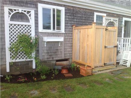 Nantucket town Nantucket vacation rental - Large outdoor shower