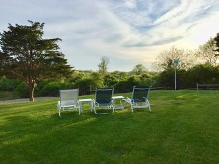 Nantucket town Nantucket vacation rental - Spacious private backyard bordering acres of open moors.