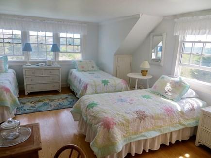Nantucket town Nantucket vacation rental - 2nd floor bedroom, three twin beds.