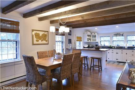 Cisco - Miacomet, Nantucket Nantucket vacation rental - Open dining and kitchen area make this perfect for entertaining