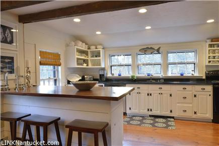 Cisco - Miacomet, Nantucket Nantucket vacation rental - Wide pine flooring - wood island - granite counters - beautiful!