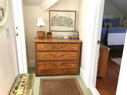 Nantucket Town Nantucket vacation rental - Upstairs Queen/Twin Beds bedrms share light-filled hall bathroom.