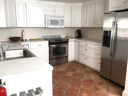 Nantucket Town Nantucket vacation rental - Kitchen is spacious, open to solarium dining area & living areas.