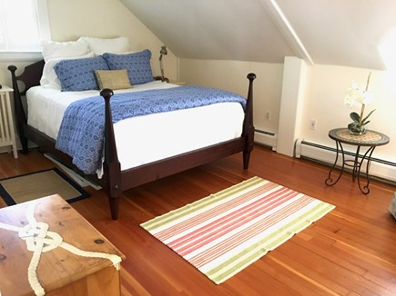 Nantucket Town Nantucket vacation rental - Queen bedroom upstairs- large room and closet
