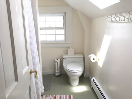 Nantucket Town Nantucket vacation rental - Upstairs bathroom has a powerful tub/shower.