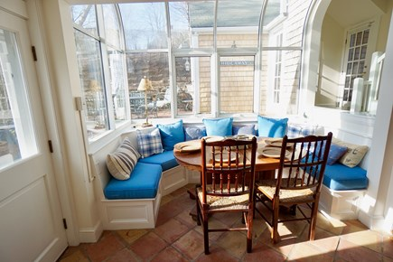 Nantucket Town Nantucket vacation rental - Light-filled solarium dining area off of the kitchen