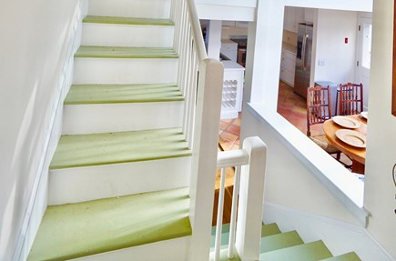 Nantucket Town Nantucket vacation rental - Hallway steps, showing house architecture and levels