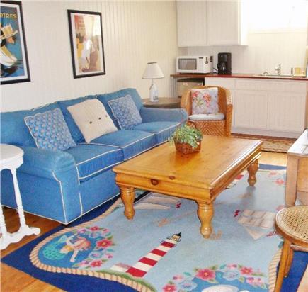 Surfside, Nantucket Nantucket vacation rental - Family room with sleep sofa, wet bar/kitchenette