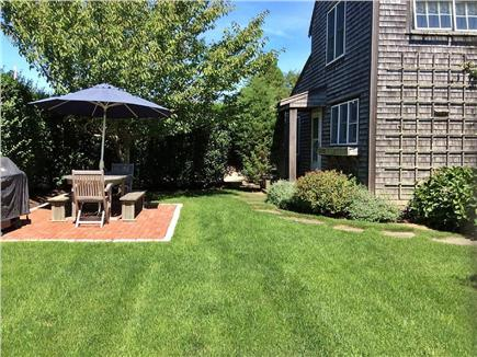 Surfside, Nantucket Nantucket vacation rental - Front yard and outdoor dining area,