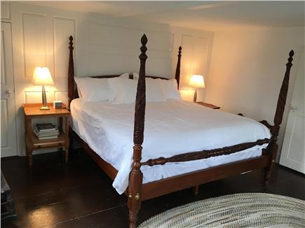 Nantucket Town Nantucket vacation rental - Master Bedroom, 2nd floor, king bed, couch & private 1/2 bath