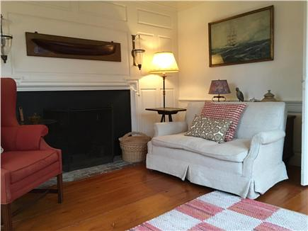 Nantucket Town Nantucket vacation rental - Living Room with non-working Fireplace