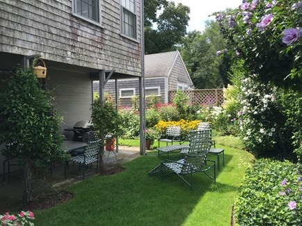 Nantucket Town Nantucket vacation rental - Back yard