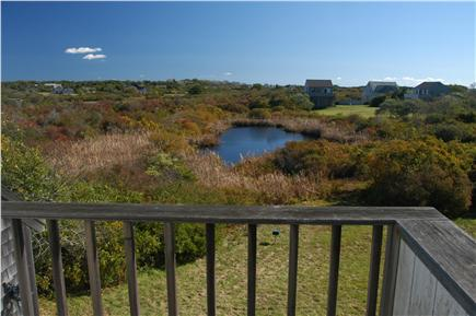 Cisco - Miacomet, Nantucket Nantucket vacation rental - View From Deck of this Nantucket Vacation Rental