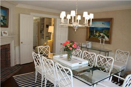 Nantucket town, (Near Town and Steps Beach) Nantucket vacation rental - Dining Room